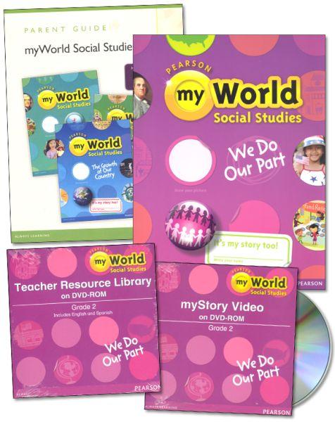 myWorld Social Studies We Do Our Part Bundle/Kit - Grade 2