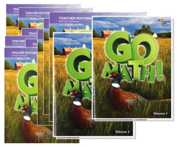 Go Math! Bundle/Kit - Grade 6 [9780544875067] - $117 39