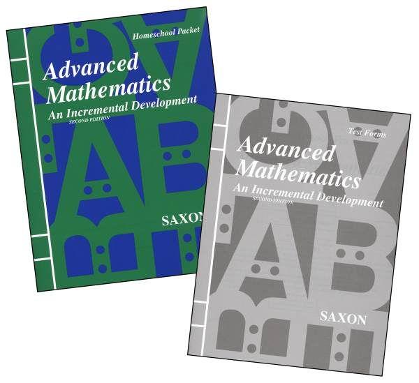 SAXON Math Advanced Mathematics Test Pack & Answer Key