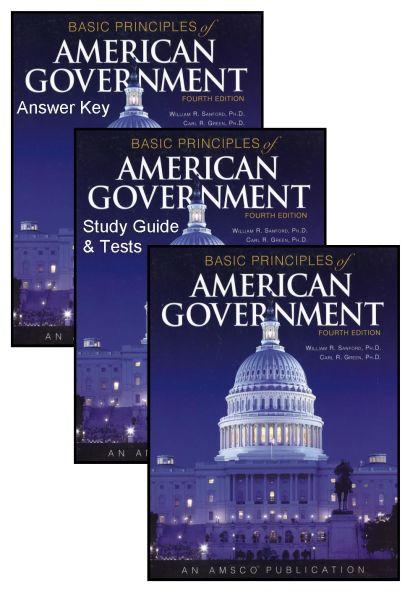 AMSCO Basic Principles of American Government Bundle/Kit [AMSBAPRSET