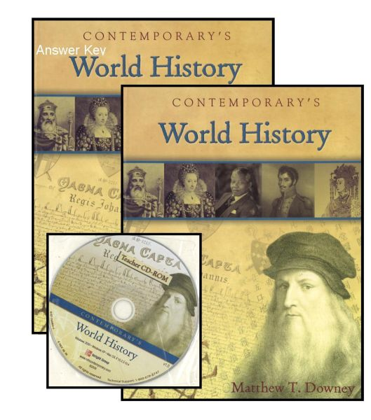 Mcgraw Hill Contemporary S World History Bundle Kit Contwohi