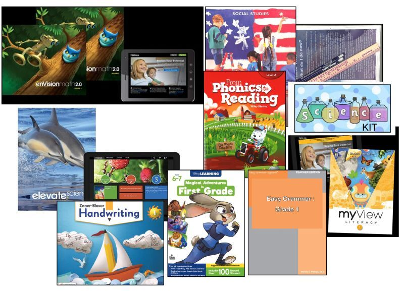 Complete Deluxe Curriculum Package 1st Grade