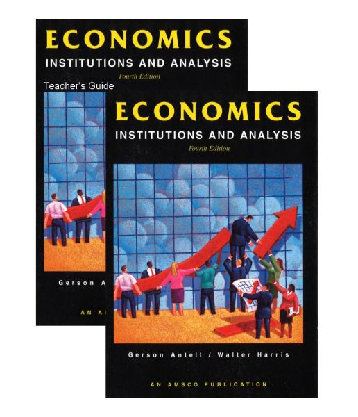 AMSCO Economics, Institutions & Analysis Bundle/Kit [ECINAN