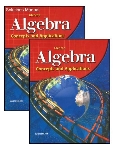 GLENCOE Algebra 1 Concepts & Applications Bundle/Kit [GLALG1