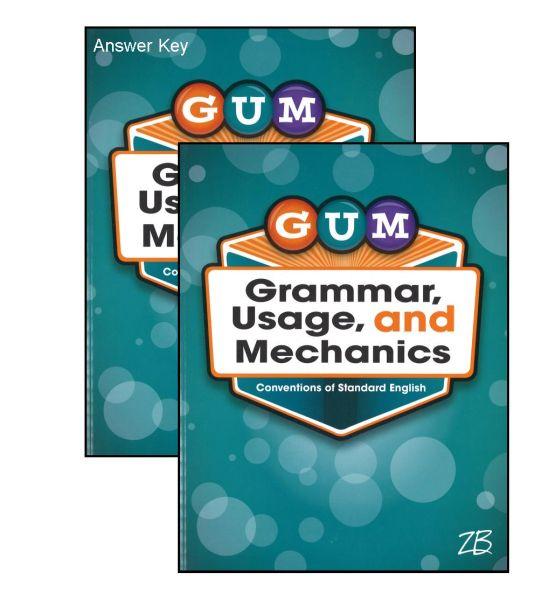G U M Grammar Usage Mechanics Bundle Kit Grade 7 GUM7