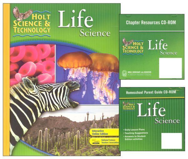 Houghton mifflin harcourt homeschool supercenter your one stop holt life science grade 6 bundlekit fandeluxe Image collections
