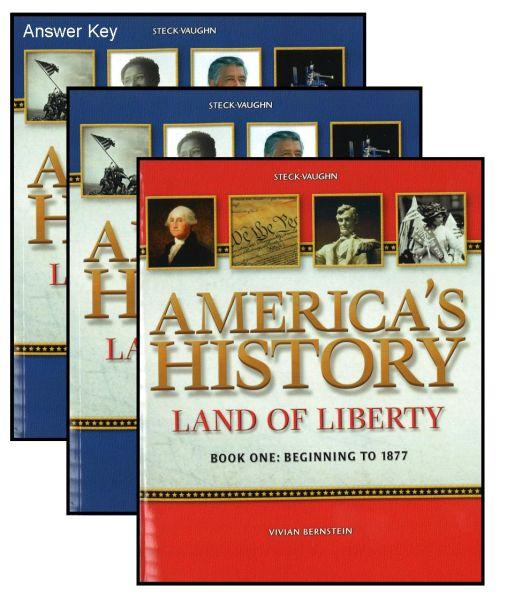 STECK-VAUGHN Land of Liberty Workbook Bundle/Kit [LOL