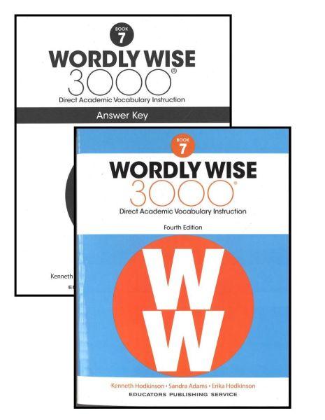 Wordly Wise 3000 Book 7 Bundle Kit Grade 7 WOWI07