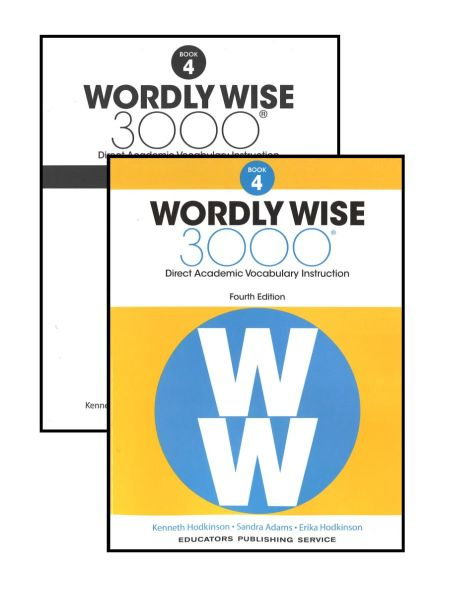 EPS Wordly Wise 3000 Book 4 Grade 4 Bundle Kit WOWI4
